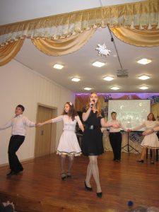 вокал Сальникова Эрика Песня о хорошем настроении, хореография 7 кл.