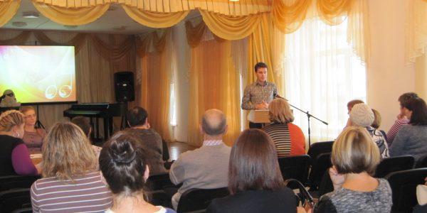 Выступление преподавателя хореографического искусства, зам. директора по УВР Шатилова С.И